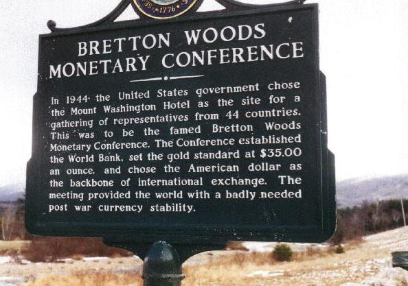 conferencia de Bretton Woods
